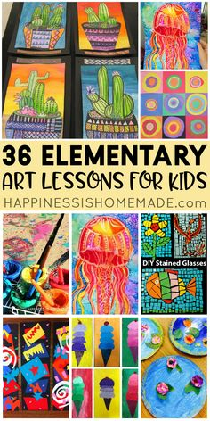 Collaborative Art Projects For Kids, Art Education Projects, Classroom Art Projects, Kids Art Class, School Art Projects, Art Classroom, Elementary Art Rooms, Art Lessons Elementary, Art Lessons For Kids