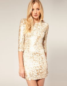 Glitzy dress by French Connection