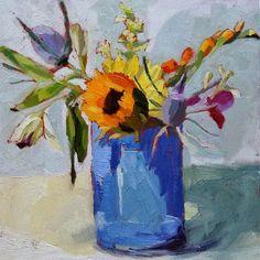 One Eye Open One Eye Shut: Birthday Flowers Amy Schimler Safford