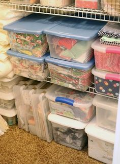Tips for Fabric Storage