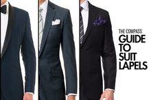 Mens Fashion Basics - Formal Dress Code - Suit Lapels Explained
