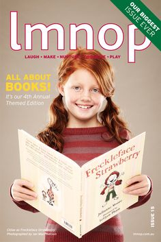 This might be an interesting magazine, Millie! KIDS - LMNOP Magazine &Blog  I recently discovered the cutest, design-savvy kids' magazine, filled with original yet practical resources for families. LMNOP –