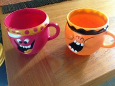 Rootin' Tootin' Raspberry and Injun Orange - Kool Aid mugs from the 60's. My apologies for being politically incorrect, but that was the name !