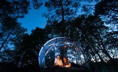 Hotel Hotel Attrap Rêves: Burbujas transparentes en medio del bosque @alvarodabril