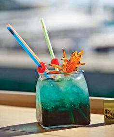 Tropical Tortuga Gorda Cocktail
