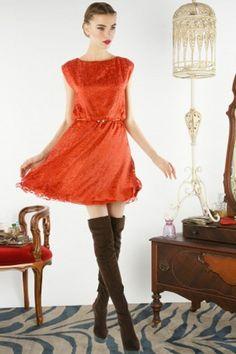 Alice + Olivia velvet dress.