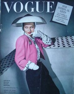 VOGUE US 1942 April 15 - VOGUE USA 1942 - Vintage Fashion Publications