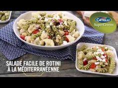 Salade facile de rotini à la méditerranéenne   Catelli