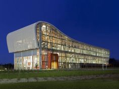 GlaxoSmithKline's admin Building is an innovative geothermal office in Quebec