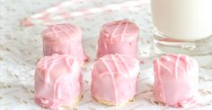 Cake Cookies, A Food, Food To Make, Panna Cotta, Icing, Valentines Day, Rum, Sweets, Snacks