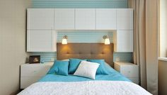 Znalezione obrazy dla zapytania aranżacja małej sypialni Malaga, Sweet Home, Bedroom, Furniture, Design, Home Decor, Interior Ideas, Google, Image