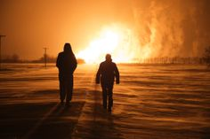 PHOTO GALLERY: Pipeline explodes, sending flames into Manitoba sky