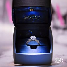 Her eyes will light up... just like the box ;-)  Shop Simon G. engagement rings: Engagement Rings | Product Categories | Bremer Jewelry