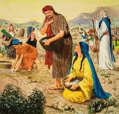 It was not Moses who gave you manna to eat in the desert - Google Search