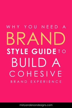 Why do you need a brand style guide anyways? What if it could help you get more leads and make social media easier? Your brand style guide is like a cheat sheet that helps you nail you branding every time. brand design | brand identity design | brand style guide | what is branding | branding your blog | branding yourself | personal branding | brand your blog |