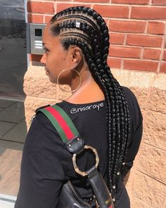 Gorgeous braids by @nisaraye - https://blackhairinformation.com/hairstyle-gallery/gorgeous-braids-nisaraye/