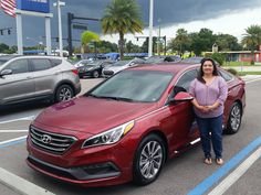 """Carissa Corpus bought a brand new 2017 Hyundai Elantra with the help of salesman Kenny Swartz! """"Kenny was awesome!"""" Thank you so much Carissa Corpus! We hope that you are enjoying your new Hyundai and please; if there is anything that we can do, don't hesitate to ask… We are here to help! #LakelandAutomall #LakelandHyundai #2016Elantra #HyundaiElantra #Hyundai"""