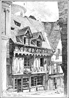 Architectural Sketches - j.c. halden