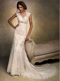 ball gown with lace strps for country wedding | Designer Wedding Dresses-Source Spanish Designer Wedding Dresses ...