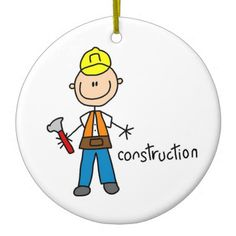 Shop Construction Stick Figure Ceramic Ornament created by stick_figures. Grandma Cards, Stick Figure Drawing, Happy Rock, One Stroke Painting, Sketch Notes, Rock Design, Construction Worker, Stick Figures, Funny Art