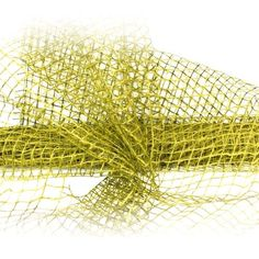 Olive Green Jute Mesh by RedWithEnvyDesigns on Etsy, $15.50