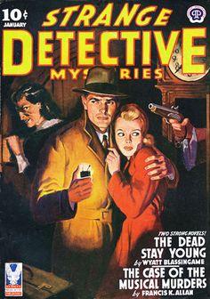 Strange Detective Mysteries - Milton Luros