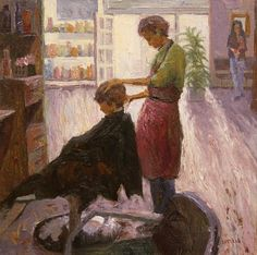 The Barbershop by Eric McLean