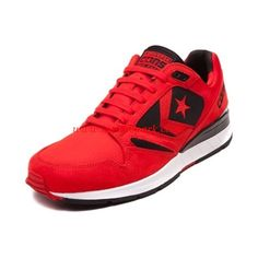 Intellectuality Mens Converse CONS Wave Racer Red Black Shoes Charming