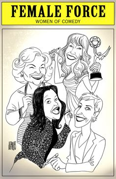 Female Force: Women of Comedy GRAPHIC NOVEL.  Betty White, Kathy Griffin, Rosie O¹Donnell & Ellen DeGeneres are some of the most entertaining and hilarious women in modern day comedy. In print as well as ebooks  on Nook Kindle & iTunes
