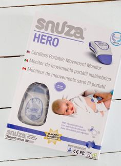 Snuza Hero Review, a baby monitor that helps save lives
