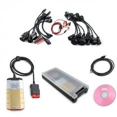 2014.02 DELPHI PRO+ Diagnostic Tool Bluetooth+Car & Truck Cables