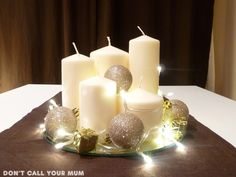 Dont call your mum: DIY Christmas Centerpiece