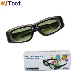 Mitoot Active Bluetooth RF Glasses Eyewear For Sony/Epson LCD Projectors Sony 3d Tv, 3d Projector, Bluetooth, 3d Tvs, 3d Glasses, Smart Tv, Epson, Consumer Electronics, Eyewear