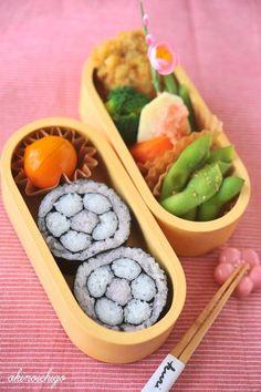 Ume Flower Sushi Roll Japanese Bento Lunch