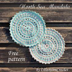 Crochet Mandala - Tutorial ❥ 4U hilariafina http://www.pinterest.com/hilariafina/