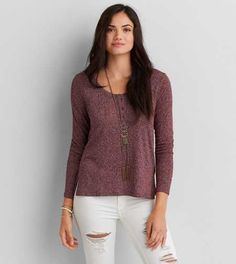 AEO Soft & Sexy Henley - Buy One Get One 50% Off