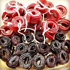 Naturlig sødt frugtlæder. Perfekt alternativ til slik fyldt med sukker og e-numre.