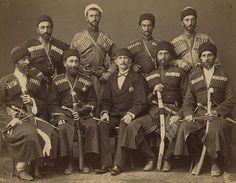 Eight Circassian men | by yuecelnabi