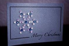 Snowflake diy card - Handmade Cards 2012 -2013 | Handmade Cards 2012 -2013