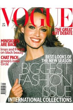 Fashion Magazine Covers - Online Archive for Women (Vogue.com UK) SEPTEMBER 1997
