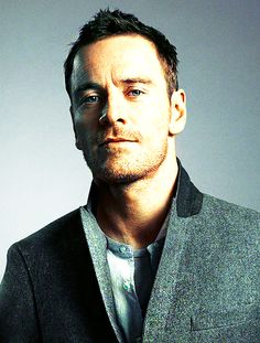 Michael Fassbender He's like a transformer for hotness. See, he makes me make no sense. Lovely. :-)