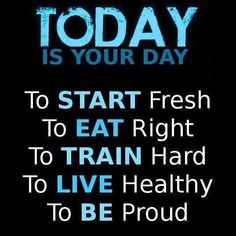 Today, not tomorrow, today #athletic #become #cardio #crossfit #cuttingedge #diet #dnafit #dnatest #deadlift #exercise #female #fitfam #fatburn #fatloss #fitness #goals #hardcore #inspire #motivate #nutrition #nike #paleo #results #sprint #strong #tennis #training #women #weightloss #fitspro