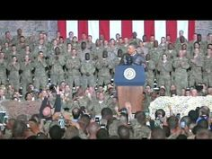 President Obama Pays a Surprise Visit to Troops in Afghanistan. President Obama Pays a Surprise Visit to Troops in Afghanistan.  Ahead of Memorial Day, the President made a surprise visit to Bagram Air Field in Afghanistan, where he spoke to thousands of troops stationed there and thanked them for their service. May 25, 2014.