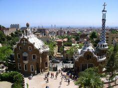 Park Guell, Barcelona, Spain.