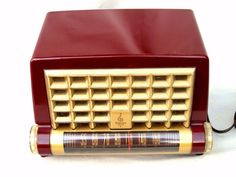 Emerson Deco Radio Loewy Design obscure 600 series Original restored beauty Look
