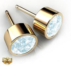 Rhodium Plated White Opal Color Round 6mm Stud Earrings made with Swarovski Crystals. #Glimmering #swarovskistudearrings #swarovskistuds #swarovskiearrngsstuds Shop Now: http://www.glimmering.co.in/earrings/swarovski-stud-earrings.html