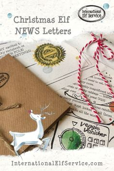 A great gift for all ages this Christmas with 7 handcrafted, personalised Christmas Elf Letters, filled with news and sparkling with magic straight from the North Pole. Perfect for children to find mysteriously around their home on Christmas Day or in the build up.  Makes a great accessory to Elf on the Shelf and begins a new Family Christmas Tradition they'll love. Christmas Elf, Family Christmas, Elf Letters, North Pole, Christmas Traditions, Elf On The Shelf, Arctic