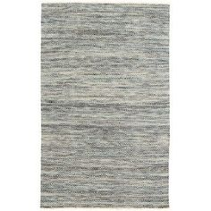 "Dash and Albert Rugs Jewel Gray Area Rug Rug Size: Runner 2'6"" x 8'"