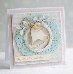 Kartka na Boże Narodzenie Handmade Christmas, Christmas Crafts, Xmas, Anniversary Cards, Winter Season, Diy Cards, Cardmaking, Holiday Cards, Scrapbooking