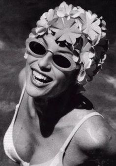 "Retro inspiration for ""The Style Aquatic."" March 2012. #swim #style"